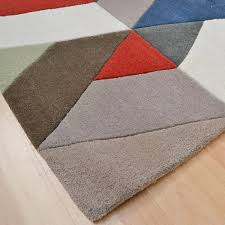 Coloured Rug Funk Chevron Multi Coloured Rugs Free Uk Delivery