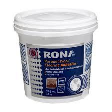 floor adhesive rona