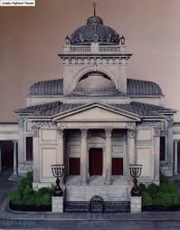 idea alm a model of the great synagogue on tlomacka street in