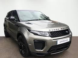 range rover silver 2015 used land rover range rover evoque silver for sale motors co uk