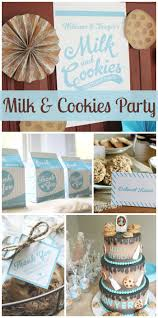 152 best milk and cookies party ideas images on pinterest