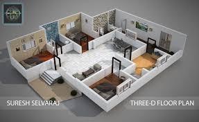 artstation 3d floor plan suresh selvaraj