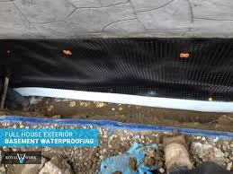 royal work corp waterproofing wet basement waterproofing toronto