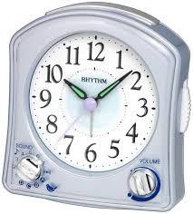 rhythm musical alarm clock
