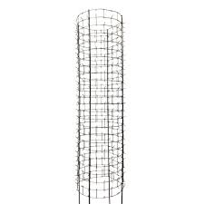 arbor shield 47 in tree protector galvanized steel with rebar