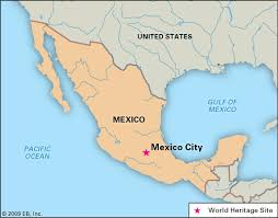 me a map of mexico mexico city on a map major tourist attractions maps