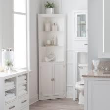 Bathroom Linen Shelves Bathroom Linen Cabinet Tower Corner Bath Storage Organizer Closet