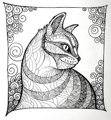 tabby cat coloring pages 96 best ausmalen images on pinterest coloring books drawings