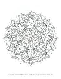coloriage mandala a imprimer dans coloriages de mandalas pour