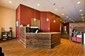 Rustic Reception Desk Five Things That Receptionists Want From Their Reception Desk