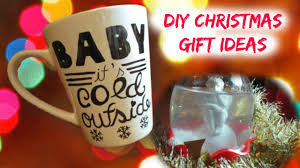 diy christmas gift ideas easy u0026 cheap coffee mug u0026 snow globe