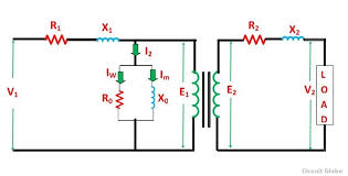 schematic diagram of transformer circuit and schematics diagram