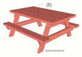 children s picnic table plans children s picnic table plans construct101