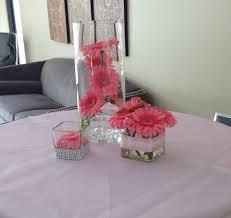 wedding reception centerpieces with gerbera daisies gerbera