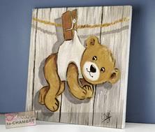 deco ourson chambre bebe tableau nounours pour déco de chambre d enfant bébé vente de
