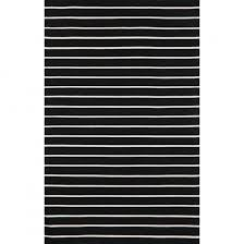 Rugs For Outdoors Shop Sorrento Black Pinstripe Stripe Stripe Outdoor Rug Liora
