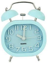 night light alarm clock generic oval twin double bell desk alarm clock with nightlight loud