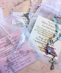 holy communion favors holy communion favor mini rosary in bag