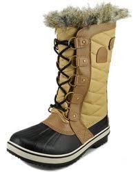 sorel tofino s boots canada sorel tofino waterproof boots in white lyst