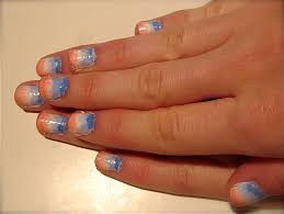 White Blue Orange Flag French Flag Nails Nail Art Lab