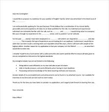 teacher cover letter template 7 free samples examples format