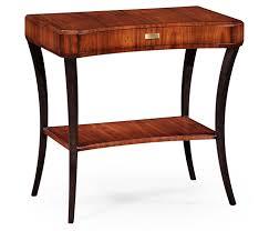High Side Table Deco High Lustre Rectangular Side Table For Drawer