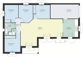 faire un plan de cuisine gratuit plan de maison gratuit en l 13 plain pied 80m2 lzzy co
