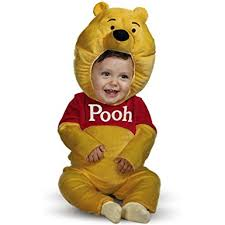Deluxe Kids Halloween Costumes Amazon Kids U0027 Winnie Pooh Halloween Costume Clothing