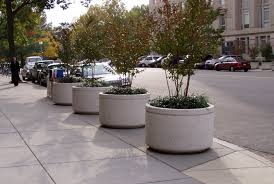 planters inspiring large round concrete planters large round