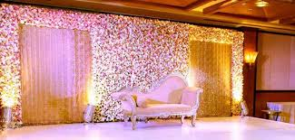 Interior Design With Flowers Wedding Couple Stage Decoration With Flowers 12 U2013 Interior