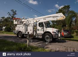 electric utility truck stock photos u0026 electric utility truck stock
