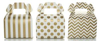 polka dot gift boxes gold candy box set wedding favor boxes 36 pack