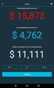 led light energy calculator led lighting energy calculator apk 1 1 download only apk file for