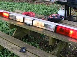 whelen ambulance light bar oscillating whelen advantedge plus flush lightbar youtube