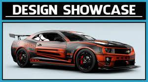 galaxy camaro forza motorsport 5 design showcase 2012 chevrolet camaro zl1
