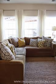 dwellings by devore the easiest way to hang curtain rods the easiest way to hang curtain rods
