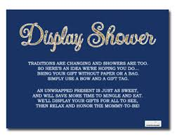 display shower card bridal shower invitation insert card