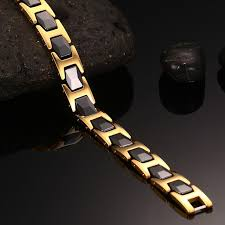 germanium health bracelet images Stylish bio energy magnetic therapy bracelet g3 series for men jpg