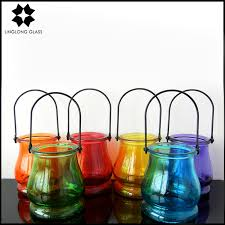 hanging glass candle holder hanging glass candle holder
