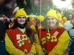 i was a balloon carrier in the macy s thanksgiving day parade and
