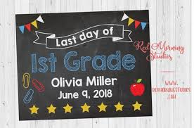 graduation signs 1st day of school and graduation signs tagged school chalkboard