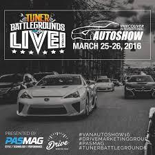 lexus auto show vancouver drive up pasmag tuner battlegrounds vancouver international