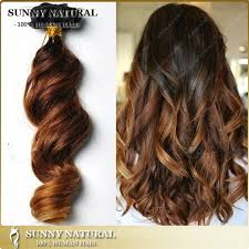 ombre clip in hair extensions fashion ombre clip in hair extensions human hair wave