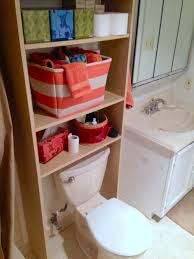 over the toilet shelf ikea my goal was to incorporate some over the toilet storage in a very