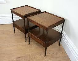 Mahogany Side Table Side Table Vintage Mahogany Round Coffee Table Antique Mahogany