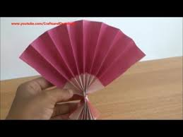 how to make a fan how to make a japanese fan easily