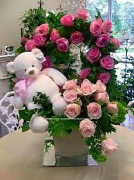 Valentines Flowers - 87 best osito con flores images on pinterest flowers teddy
