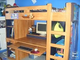 lit surélevé avec bureau lit mezzanine montana conforama best lit mezzanine avec bureau