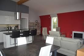 sejour ouvert sur cuisine cuisine ouverte sur sejour salon photos de design d intérieur et