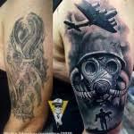 war tattoo shoulder cover up best tattoo ideas gallery